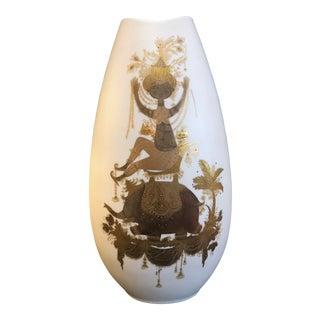 Mid Century Bjorn Wiinblad Rosenthal Vase For Sale
