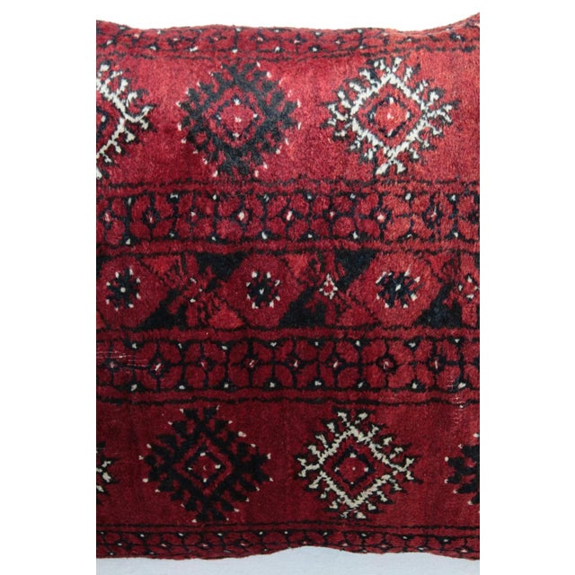 Boho Chic Carpet Pillow For Sale - Image 5 of 11