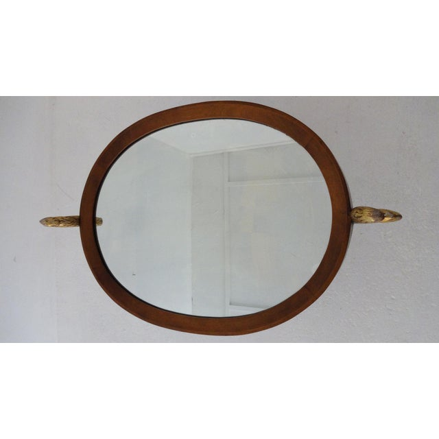 Unique Walnut Biedermeier Style Side Table For Sale - Image 4 of 10