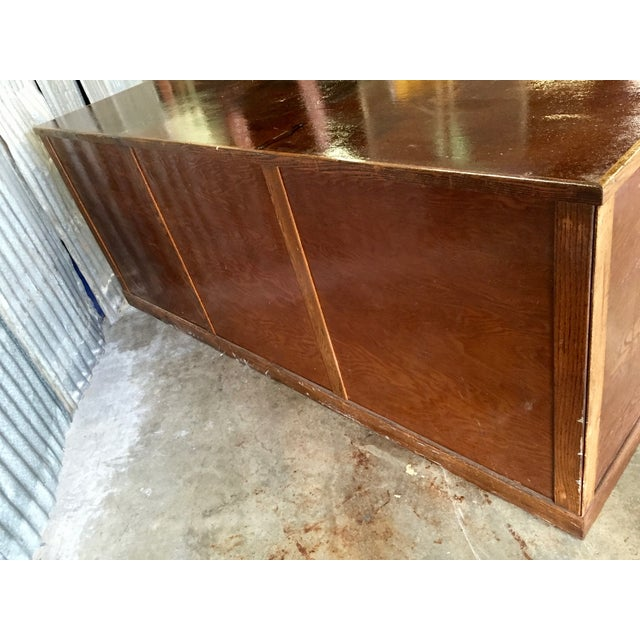 Antique 1940s Hardware Store Counter For Sale In Austin - Image 6 of 11