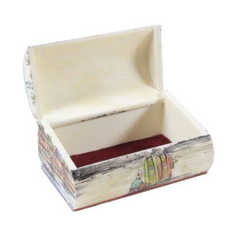 Turkish Hand-Painted Bone Box - Image 4 of 4