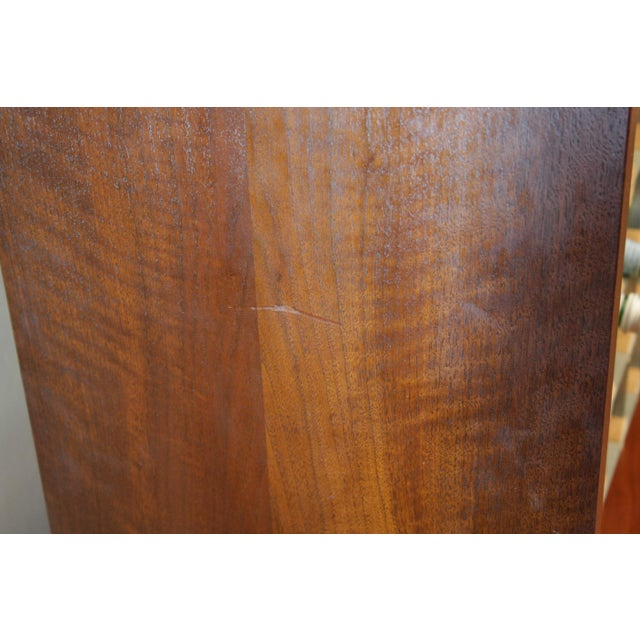 Danish Modern Room Divider Bookcase in Walnut For Sale - Image 9 of 13