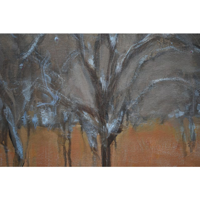 """Early 21st Century Stephen Remick """"Heading Up the Hill, Looking Back"""" Large Contemporary Landscape Painting For Sale - Image 5 of 12"""