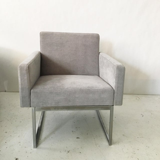 Milo Baughman Lounge Chairs- A Pair - Image 6 of 10