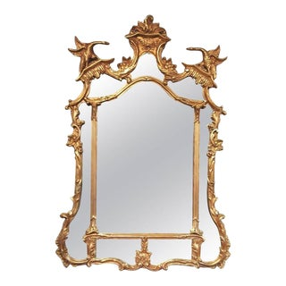 Friedman Brothers Rococo Style Gilt Mirror For Sale