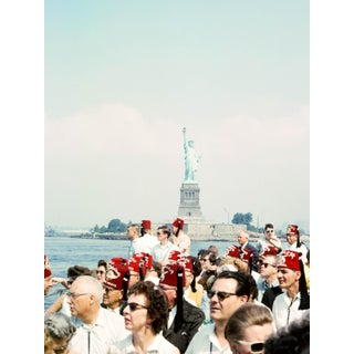 Vintage 1960s New York City Manhattan Statue of Liberty Photograph Print For Sale