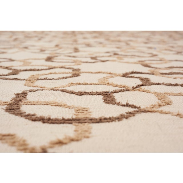 Contemporary Schumacher Assyria Grille Wool Area Rug, Patterson Flynn Martin For Sale - Image 3 of 6