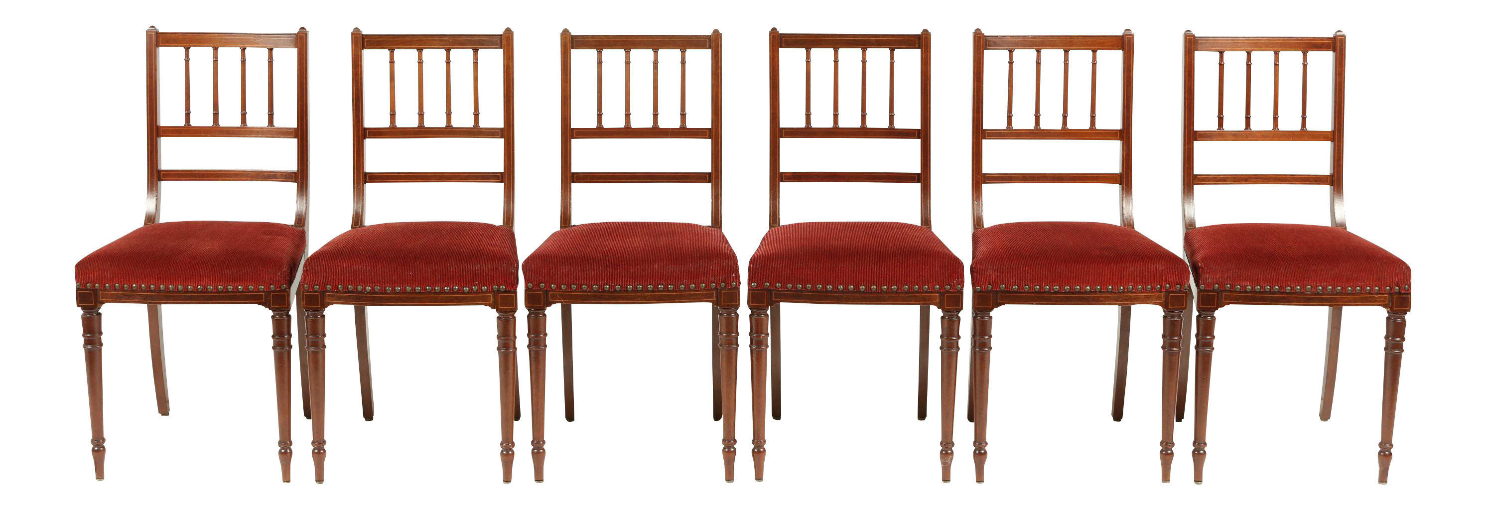 Antique Gustavian Style Dining/Ballroom Chairs   Set Of 6