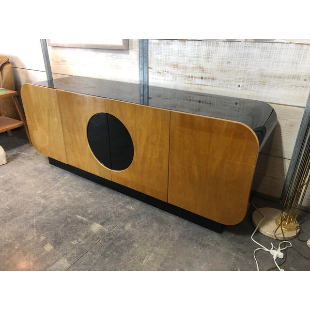 Modern Modern Wood Credenza by Casa Bique For Sale - Image 3 of 9
