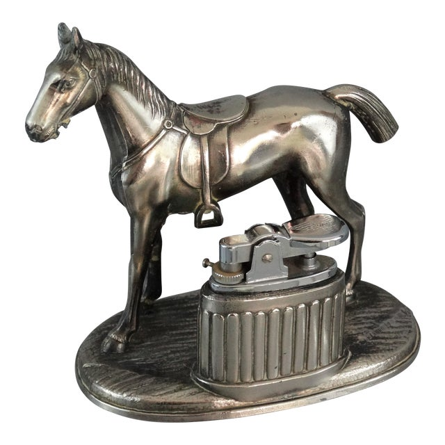 Equestrian Horse Table Lighter - Image 1 of 9