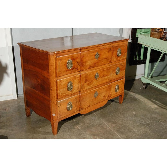 Wood Fruitwood Commode / Chest of Drawers For Sale - Image 7 of 7
