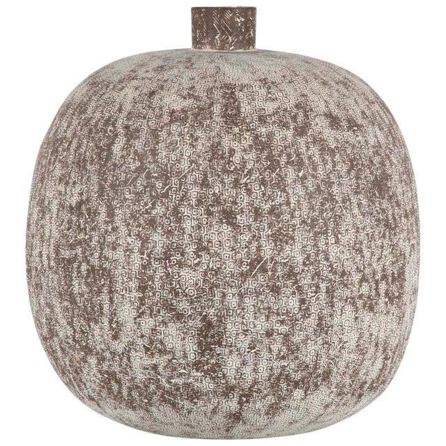 "Claude Conover Stoneware Vessel Titled ""Balakmul"" For Sale"