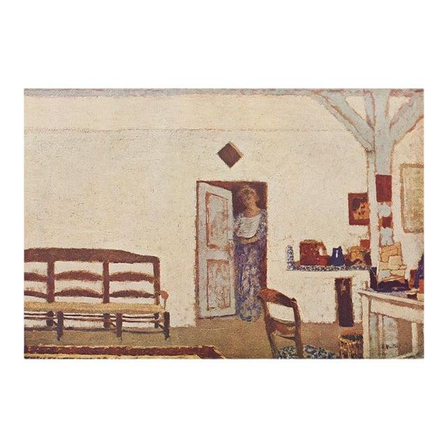 "Rare French ""Interior"" by Jean-Édouard Vuillard, First Edition Parisian Lithograph For Sale"