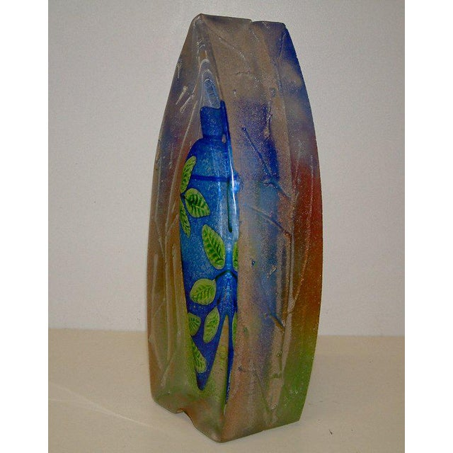 Contemporary Stephanie Trenchard Blown & Cast Glass Sculpture For Sale - Image 3 of 6