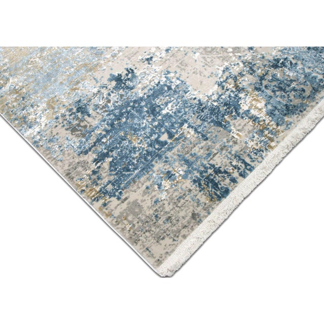 """Contemporary Contemporary Turkish Loomed Rug - 3'3"""" X 4'11"""" For Sale - Image 3 of 6"""
