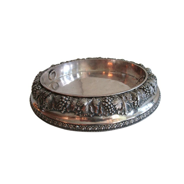 Silver Plated Fruit Bowl - Image 1 of 6