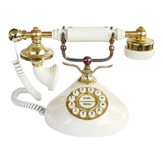 1970s Vintage French Style Telephone For Sale