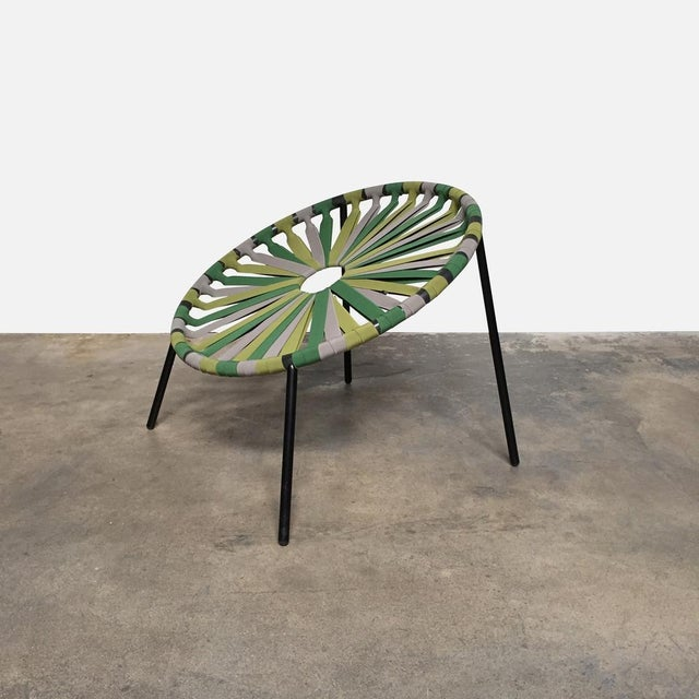 Contemporary Modern Green Lastika Chair For Sale - Image 3 of 6