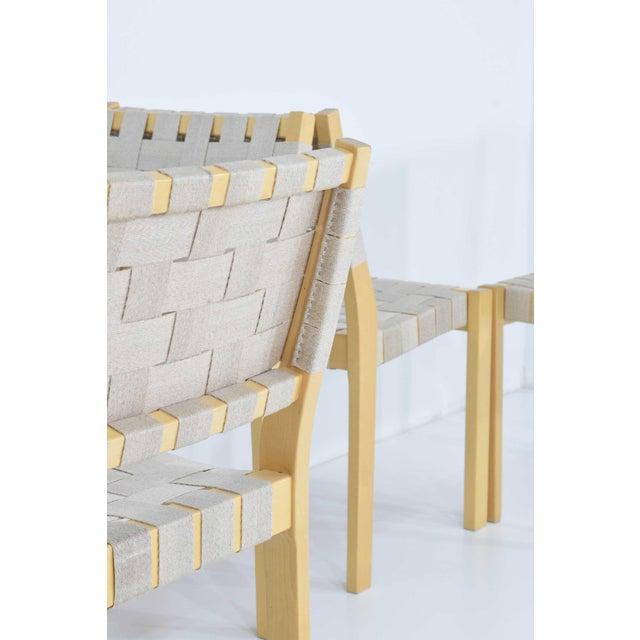 Mid-Century Modern Alvar Aalto 615 Chairs by Artek - Set of 8 For Sale - Image 3 of 10
