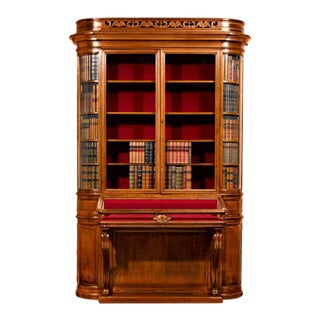 VICTORIAN SECRET BOOKCASE For Sale