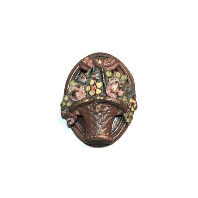 Flower Basket Door Knocker For Sale - Image 6 of 8