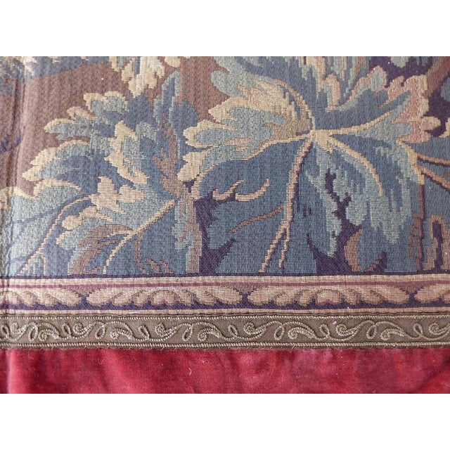 Tapestry Wall Hanging, circa 1920s from a Historic South Florida Home For Sale - Image 4 of 11