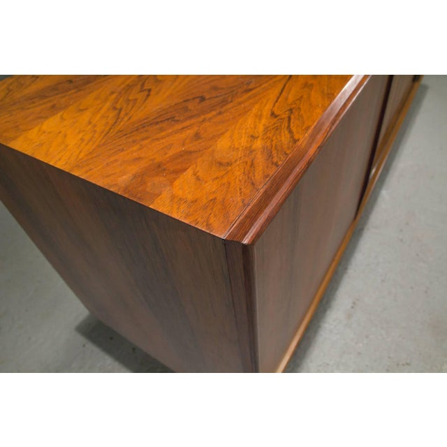 Danish Modern Rosewood Sideboard For Sale - Image 9 of 10