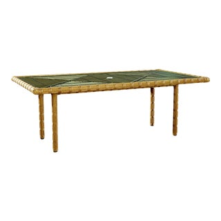 Celerie Kemble - Rafter Outdoor Rectangle Dining Table For Sale