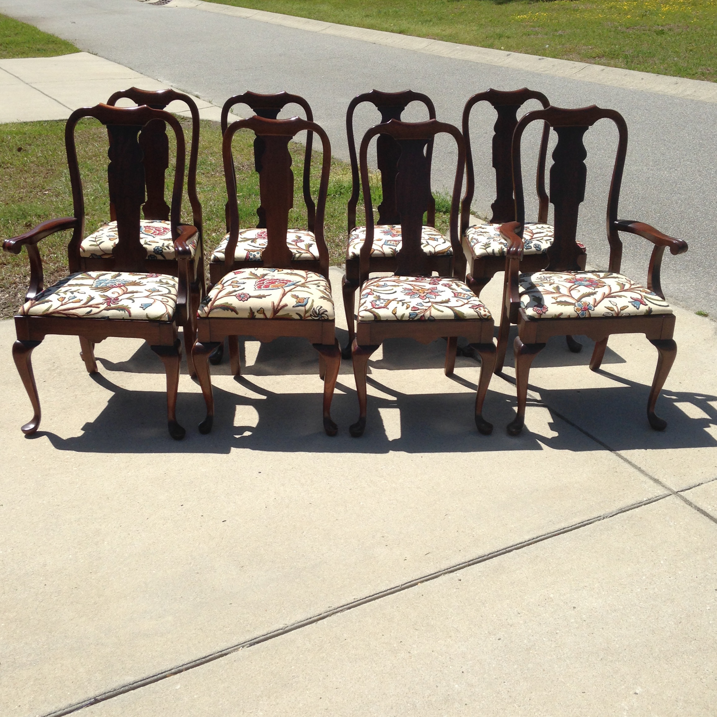 Awesome Classic Pennsylvania House Queen Anne Dining Chairs. Made Of Beautiful  Solid Cherry Wood With Custom