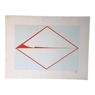 """1970 """"My Friend & Zen"""" Lithograph"""