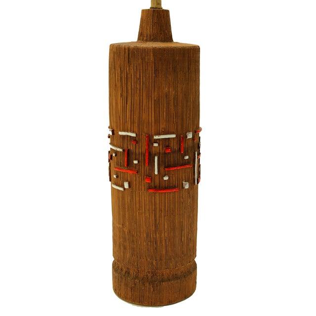 Aldo Londi Mid-Century Ceramic Lamp - Image 4 of 7