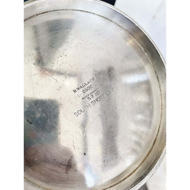 A lovely vintage circa 1930s heavy silver plated ice bucket from the Chicago South Shore and South Bend Railroad (aka...