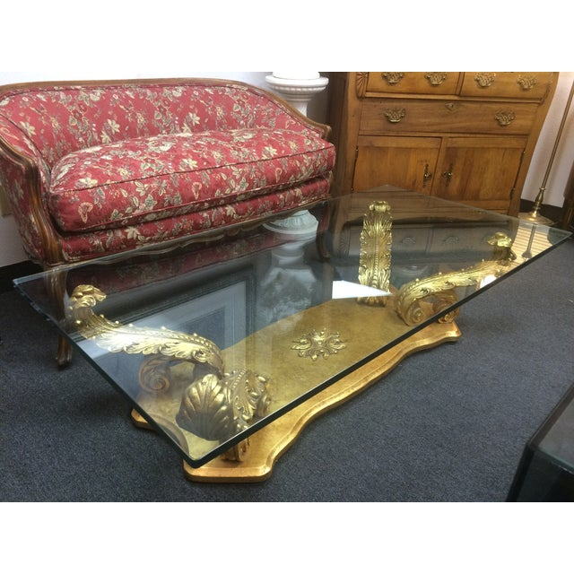 Transparent Grosfeld House-Style Plume Coffee Table For Sale - Image 8 of 8
