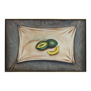 """Oil Painting on Canvas """"Avocados"""" by Cuban American Artist Nelson Franco"""