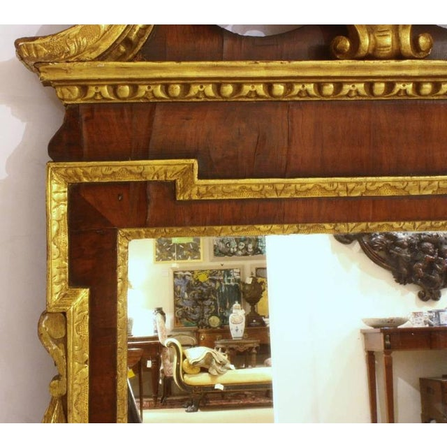 Georgian Mid 18th Century George II Pier Glass For Sale - Image 3 of 5