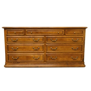 Late 20th Century Vintage Ethan Allen Double Dresser For Sale