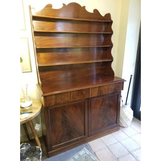 19th Century Traditional Flamed Mahogany Irish Hutch Preview