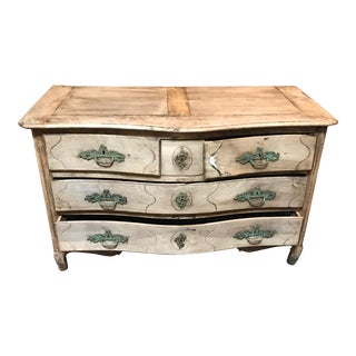 18th Century Bleached Walnut French Chest For Sale