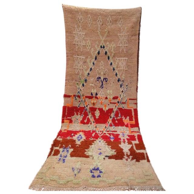 Vintage Moroccan Berber, Azilal Rug - 2′9″ × 7′ - Image 1 of 6