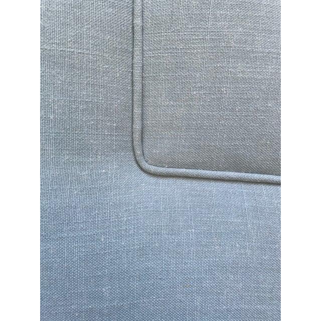 Full/Double Custom Upholstered Headboard For Sale - Image 4 of 5