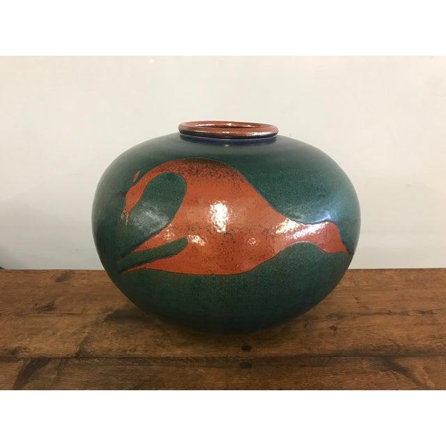Ceramic Heath Krieger Studio Pottery Contemporary Southwest Ceramic Olla Pot For Sale - Image 7 of 7