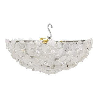Barovier Toso Murano Glass Ceiling Fixture For Sale