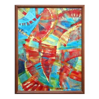 Primary Abstract Painting