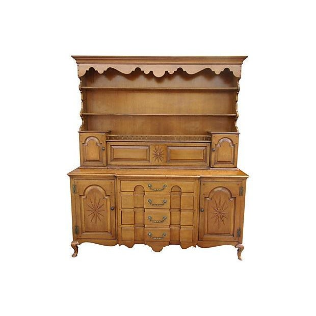Pennsylvania Dutch Breakfront Cabinet For Sale - Image 7 of 7