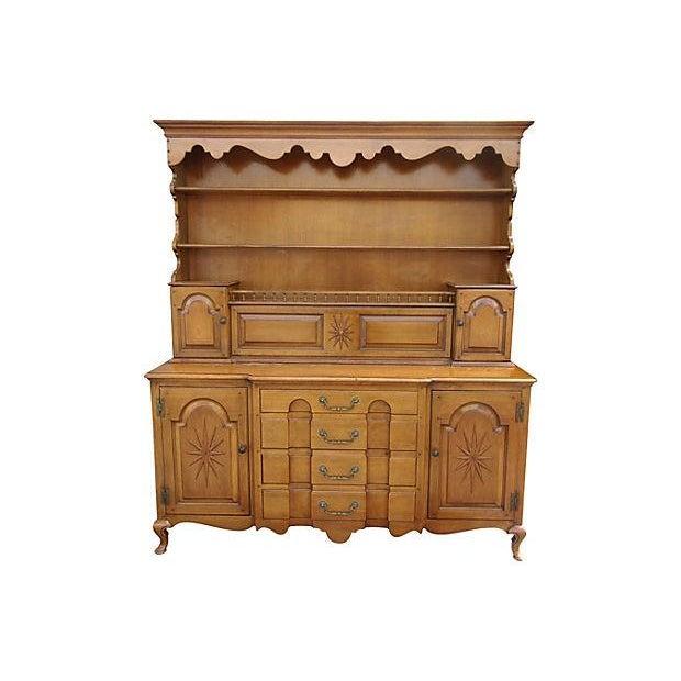 Pennsylvania Dutch Breakfront Cabinet - Image 7 of 7