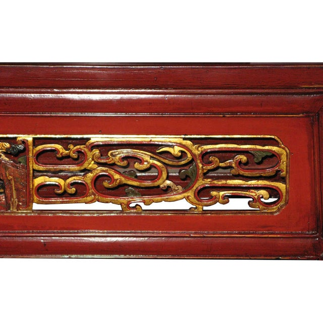 Red Fujian Altar Table For Sale - Image 5 of 7