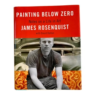 Contemporary Painting Below Zero, James Rosenquist, Signed For Sale