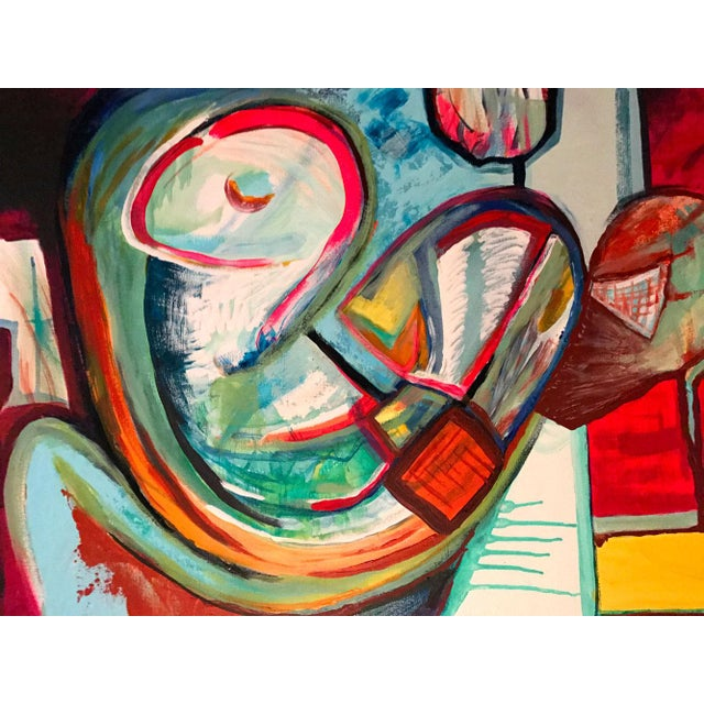 Contemporary Painting by Maxwell Redder For Sale In Atlanta - Image 6 of 7