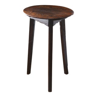 Charming English Cricket Table For Sale