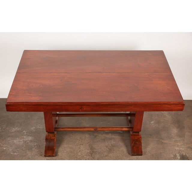 20th Century French Colonial Art Deco Rosewood Desk - Image 4 of 9